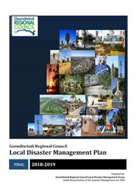 Cover of disaster management plan