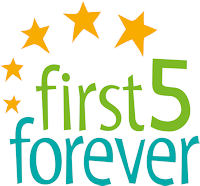 first 5 forever logo in colour
