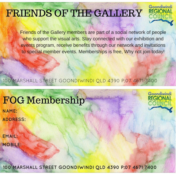 Friends of the Gallery poster
