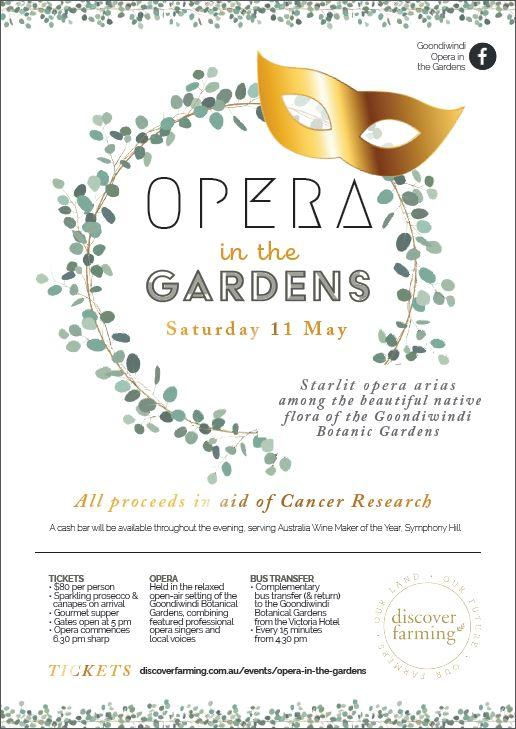 opera in the gardens 11 may 2019 poster