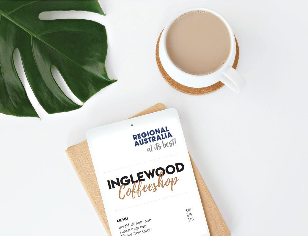 Inglewood Coffee Shop Mockup