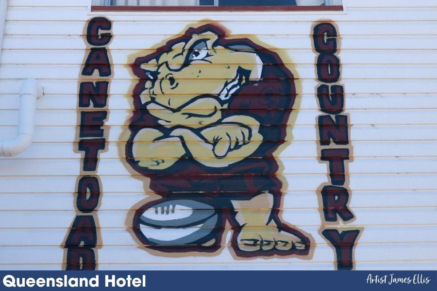 Queensland Hotel Cane Toad